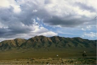 Bergketten des Hohen Atlas